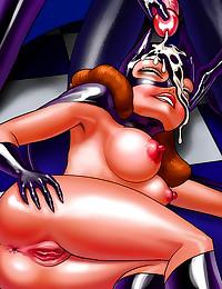 Batman cartoon porn sizzles