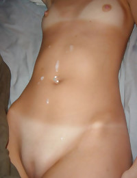 Pictures of cumshots on kinky bitches