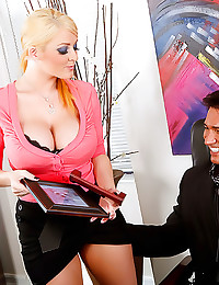 Sophie Dee hardcore office fu...