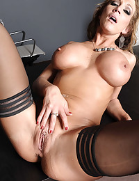 Busty Office Babe Rides On Cock