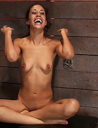 Slender Beauty Enjoys Kinky Bondage