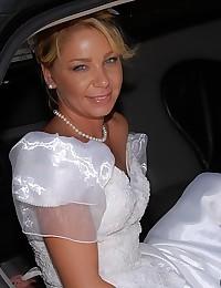 Blue Eyed Bride Fucks On Honeymoon