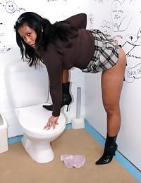 Slutty Asian girl pleases an anonymous cock