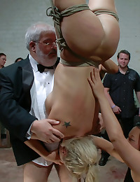 Upside down humiliation whore