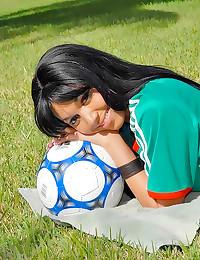 Latina soccer player screwed ...