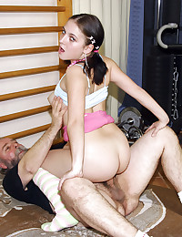 Senior gym teacher fucking one of his girls