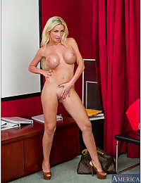Sensual Office Secretary Minx Evita