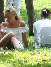 Real teen upskirts, caught in public places