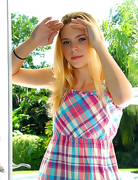 Petite girl laid by monster c...