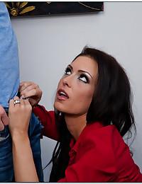 Teacher Seduces Her Horny Student