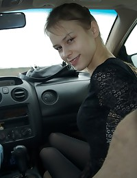 Blowjob in the car