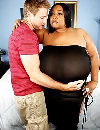 Mega fat black slut