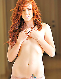 Slender redhead is perfect
