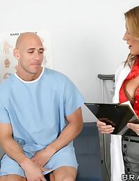 Hot Doctor Pleasures Patient