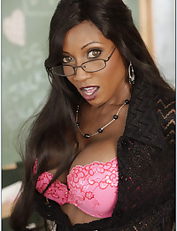 Black milf is sexy teacher