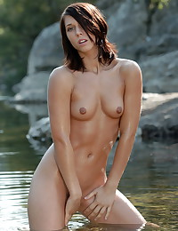 The gorgeous Nikita is completely naked from the start.