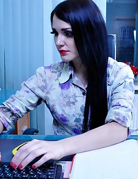 Horny Office Workers Enjoy Of...