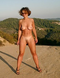 Crazy chicks like nudism
