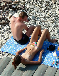Voyeur pics at the beach