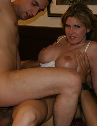 She is a two cock whore