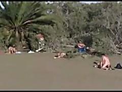Sex public beach