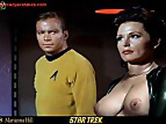 The Girls of Star Trek Nude