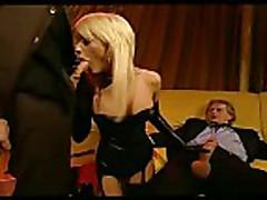 Brigitta Bulgari DP in High Class Eurosex clip