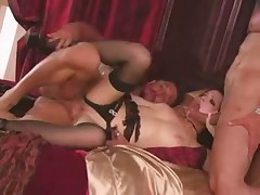 Gorgeous Rebeca Linares threesome video