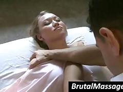 Madison Scott - Chesty Babe Madison Scott Gets A Sexy Massage