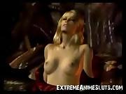 3D Tentacles Fuck Blonde!