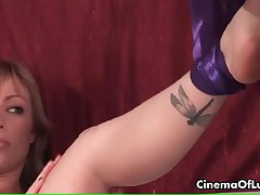 Hot Busy Babe With Big Boobs Gets Tied For A Sexy Bondage Action By CinemaOfLust