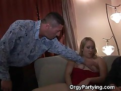 Orgy Partying