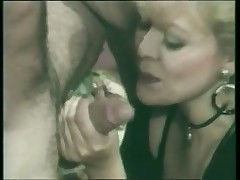 Mature Pornstar Eating Down Penis