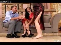 Regina And Florencia - Foot Fucking Threesome