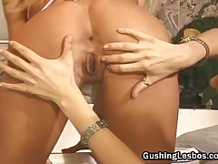 Lesbian Slut Gets Pussy Licked And Fucked With A Toy Free Porn 2by GushingLesbos
