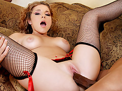 Nasty White Girl Wants To Be Fucked! She Loves Black Cock!
