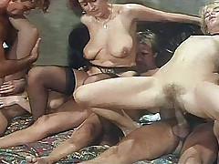 Rocco Fucking During Awesome Group Sex & Giving Anal