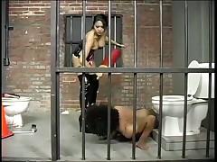 Dominatrix Mika Tan Punishes Criminal
