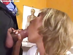 sex doctor gets fucked in the clinic