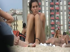 Nudist beach [full HD clip]