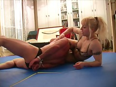 Xana mixed wrestling domination