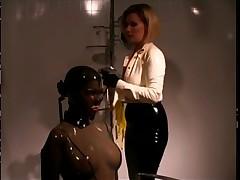 Sexy Slave getting humiliated in Bondage BDSM-STORES.com