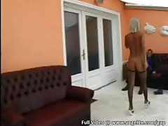 Great groupsex with 2 horny blondes