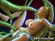 A 3D Tentacle World!