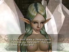 Girls of Twilight Princess - Hena and Great Fairy