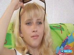 Two young blondes Gretta and Sveta with two guys