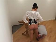 Herrin Silvia Strapon Punishment