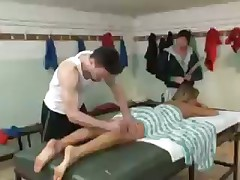 Sport threesome with anal