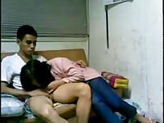 korean loves to fuck in dorm