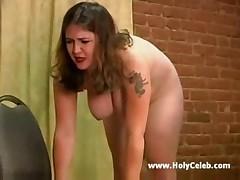 Busty lori spanked